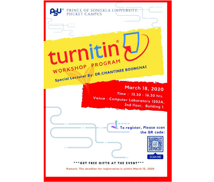 TURNITIN Workshop